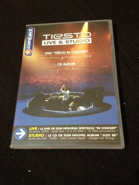 Tiesto - Live & Studio (Independance Records) (DVD) 2004 (1)