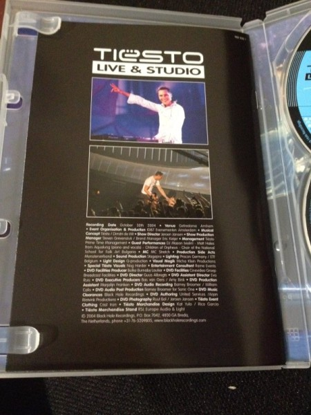 Tiesto - Live & Studio (Independance Records) (DVD) 2004 (3)