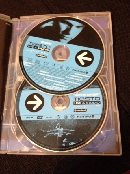 Tiesto - Live & Studio (Independance Records) (DVD) 2004 (4)