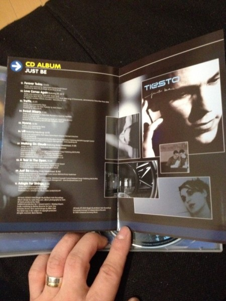 Tiesto - Live & Studio (Independance Records) (DVD) 2004 (8)