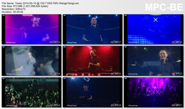 Tiesto 2014-05-10 102.7 KIIS FM's WangoTango Video