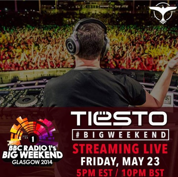 Tiesto 2014-05-23 BBC Radio1 Big Weekend (Glasgow, UK)