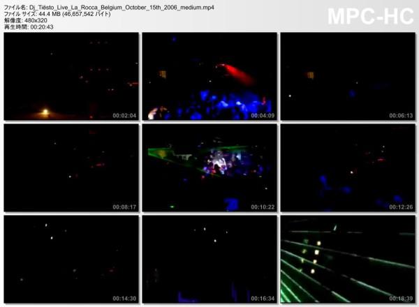 Tiesto 2006-10-15 In Private, La Rocca (Lier, BE) Video