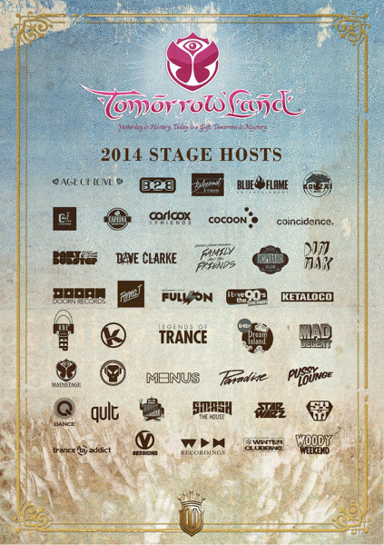 Tiesto 2014-07-19 Tomorrowland (Boom, BE) Flyer