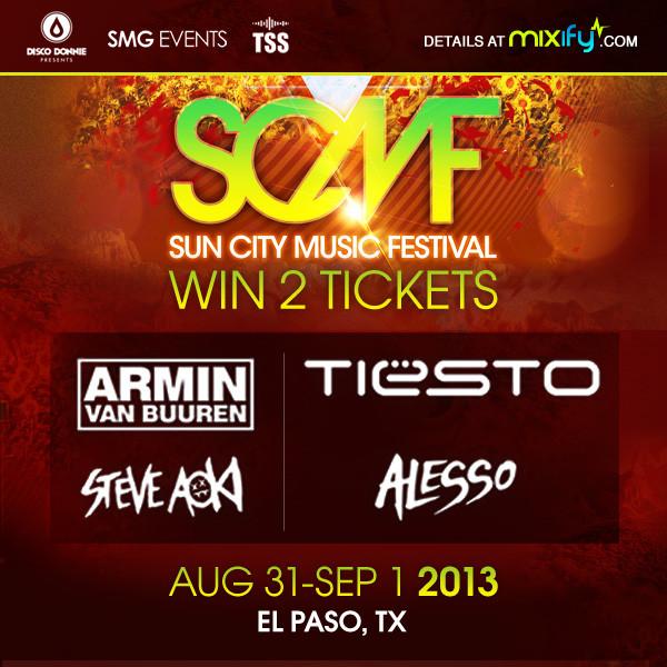 Tiesto 2014-08-30 Sun City Music Festival (El Paso, US)