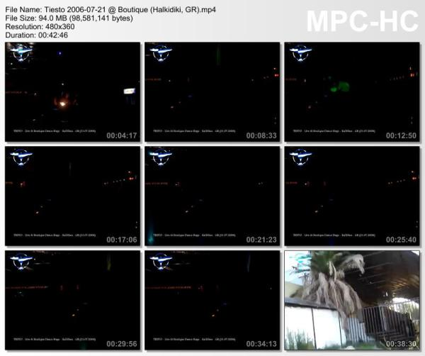 Tiesto 2006-07-21 Boutique (Halkidiki, GR) Video