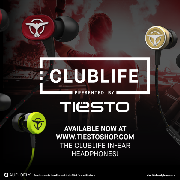 ClubLife by Tiesto In-Ear Headphones (2014) Banner