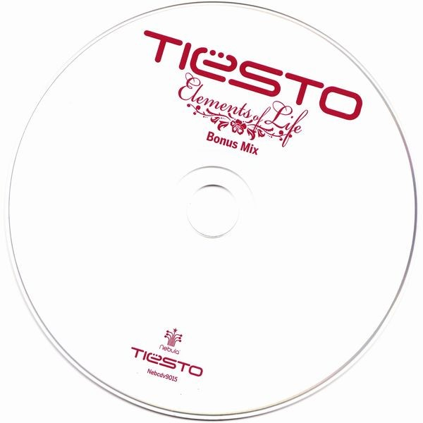 Tiesto -  Elements Of Life (Bonus Mix) (Limited CDS) (2007) CD