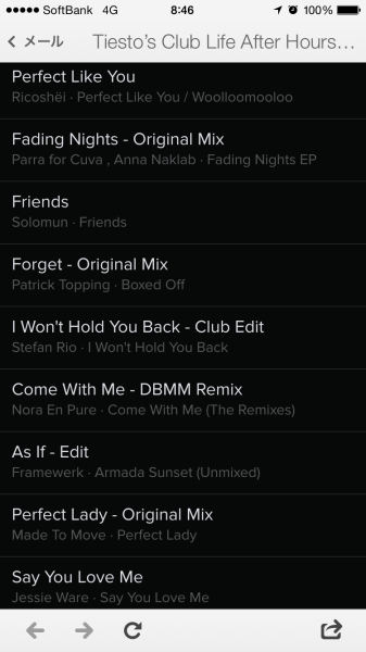 Tiesto's Club Life After Hours Playlist November (Spotify) 2014 (3)