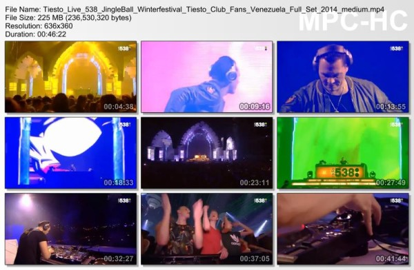 Tiesto 2014-12-19 538 JingleBall Ziggo Dome (Amsterdam, NL) Video