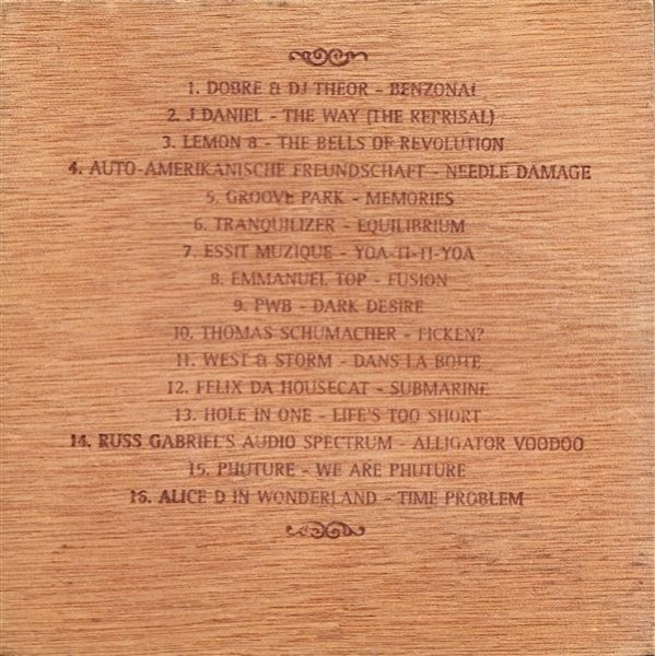 Tiesto - Lost Treasures Isle of Ra (Cigar Box Edition) (Guardian Angel) 1996 (2)