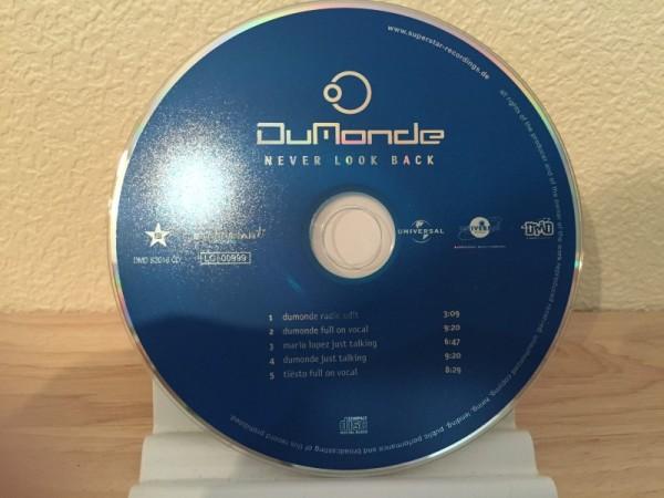 DuMonde - Never Look Back (Incl. Tiesto Remix) (Superstar Recordings) (CDM) 2001 (3)