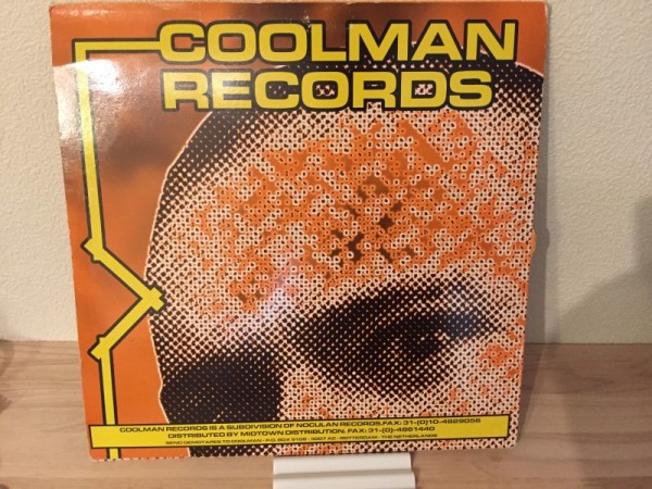 DJ Limited - Arabsession (Blue Vinyl) (Coolman Records) 1994 (2)