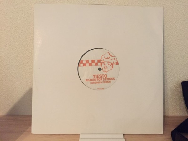 Tiesto - Adagio For Strings (Wrongun! Remix) (White Vinyl) (2007) (1)