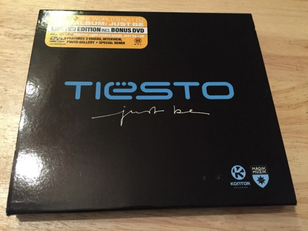 Tiesto - Just Be (Kontor Records) (CDxDVD) 2004 (1)