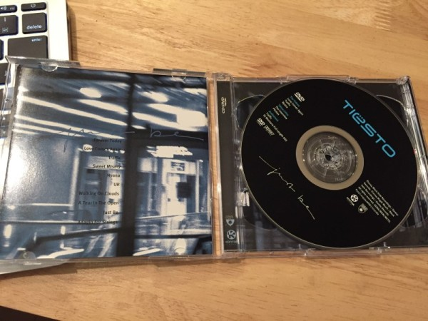 Tiesto - Just Be (Kontor Records) (CDxDVD) 2004 (3)