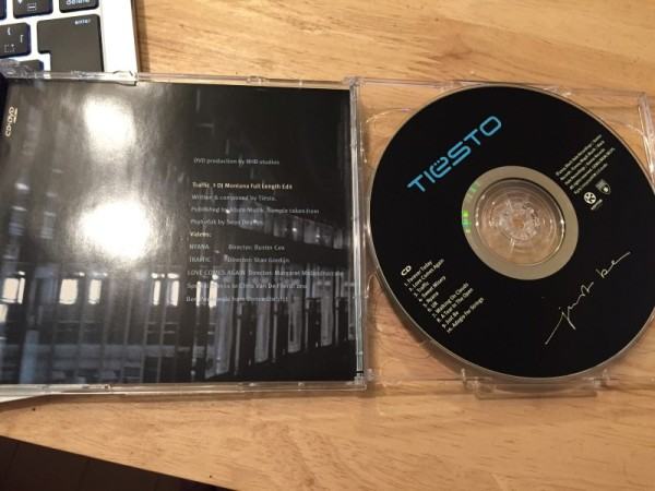 Tiesto - Just Be (Kontor Records) (CDxDVD) 2004 (4)