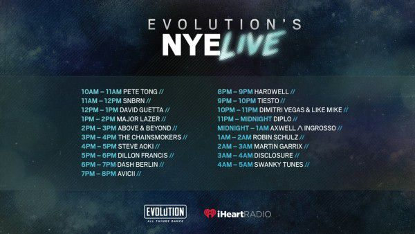 Tiesto 2015-12-31 NYE Evolution Guest Mix