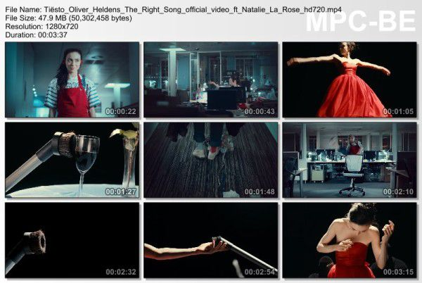 Tiesto, Oliver Heldens - The Right Song feat. Natalie La Rose (Official Video) (2016) Video