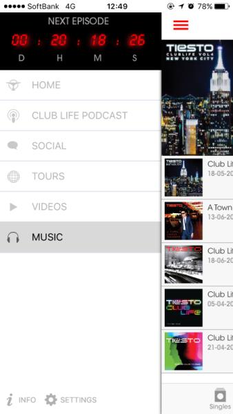 Brand New Tiesto App (iOS & Android) 2016 (3)