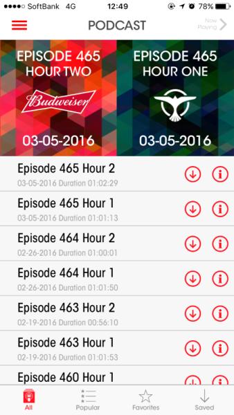 Brand New Tiesto App (iOS & Android) 2016 (5)