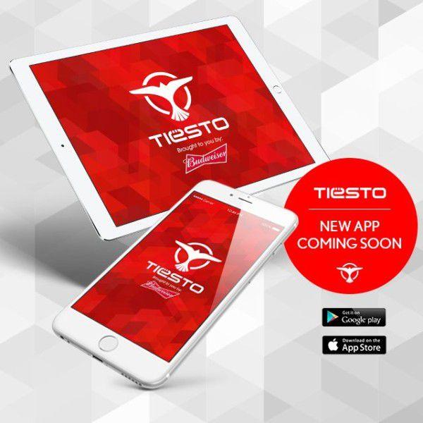 Brand New Tiesto App (iOS & Android) (2016)