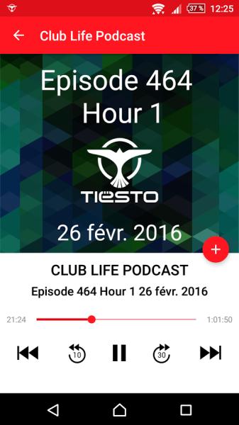 Brand New Tiesto App (iOS & Android) 2016 App View (3)