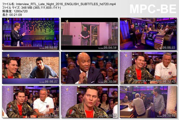 Tiesto 2016-03-03 Interview RTL Late Night (2)
