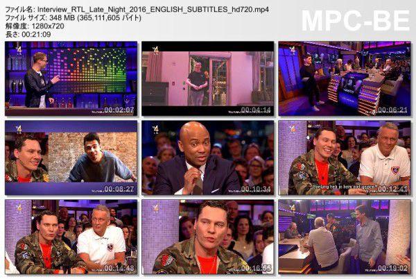 Tiesto 2016-03-03 Interview RTL Late Night (2)