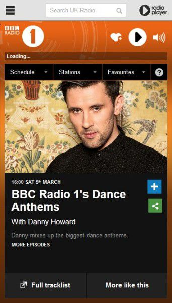 Tiesto 2016-03-05 BBC Radio 1 Dance Anthems, Back 2 Back with Danny Howard