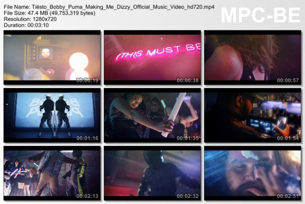 Tiesto And Bobby Puma - Making Me Dizzy (Official Video) (2016) Video