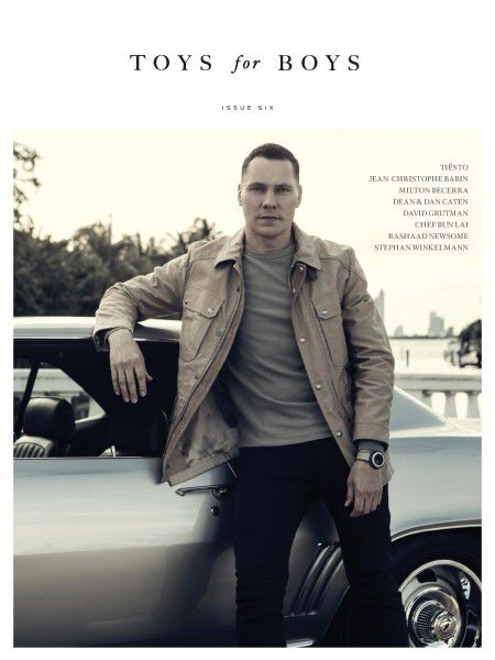 Toys For Boys - Tiesto (Magazine) 2016
