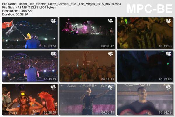 Tiesto 2016-06-19 EDC (Las Vegas, US) (Video)