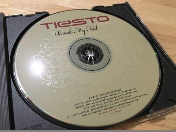 Tiesto Feat. BT - Break My Fall (Promo CDM) (Ultra Records) 2007 (2)