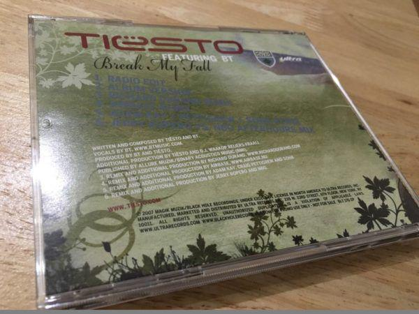Tiesto Feat. BT - Break My Fall (Promo CDM) (Ultra Records) 2007 (3)