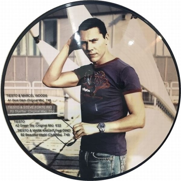 Tiesto - Dont Ditch (Not On Label) (Picture Vinyl) (2011) B