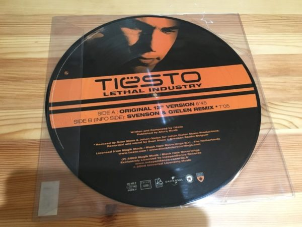 Tiesto - Lethal Industry (Independance Records) (Vinyl) 2005 (2)