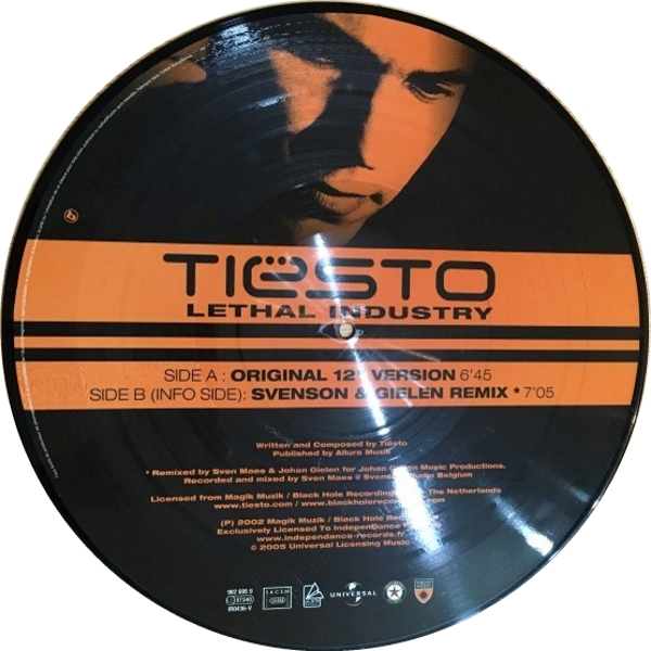 Tiesto - Lethal Industry (Independance Records) (Vinyl) 2005 (4)