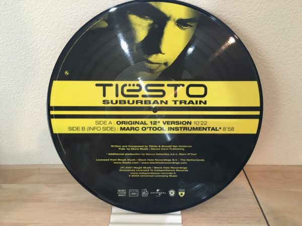 Tiesto - Suburban Train (Independance Records) (Picture Vinyl) 2005 (2)