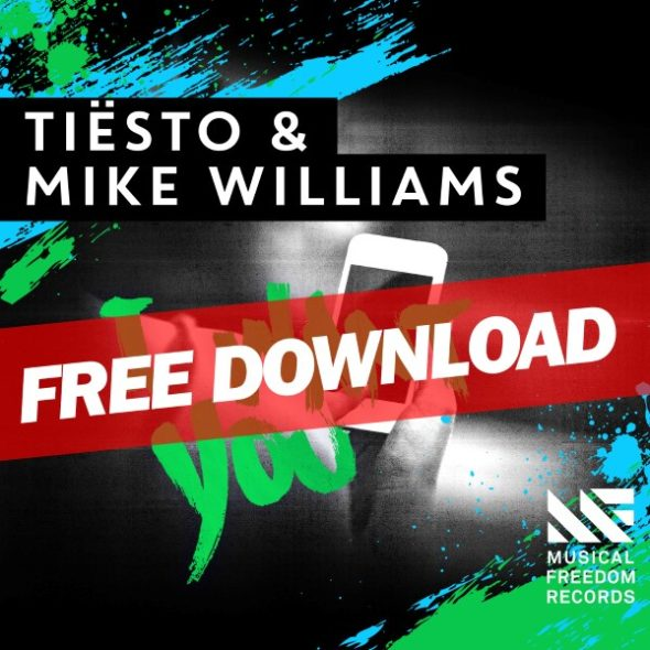 Tiesto & Mike Williams - I Want You (WEB) (2016)