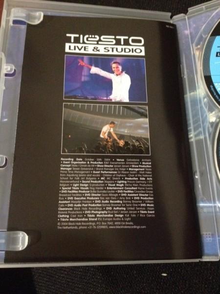 Tiesto - Live & Studio (Independance Records) (DVD) 2004 (3)
