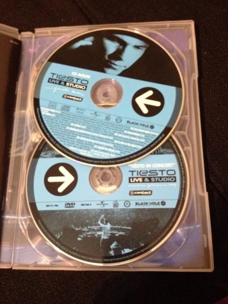 Tiesto - Live & Studio (Independance Records) (DVD) 2004 (4)