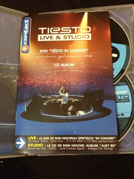 Tiesto - Live & Studio (Independance Records) (DVD) 2004 (7)