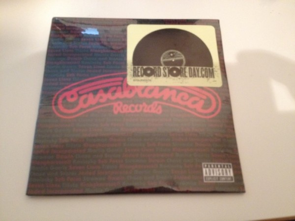 Casablanca Records 2014 Record Store Day Sampler CD (Incl. Tiesto - Red Lights) (2014) Front