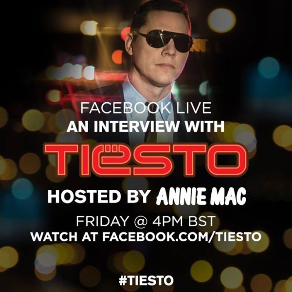 Facebook Live An Interview With Tiesto Hosted By Annie Mac (2014)