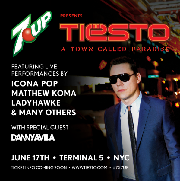 Tiesto 2014-06-17 Album Release Party, TERMINAL 5 (NYC, US)