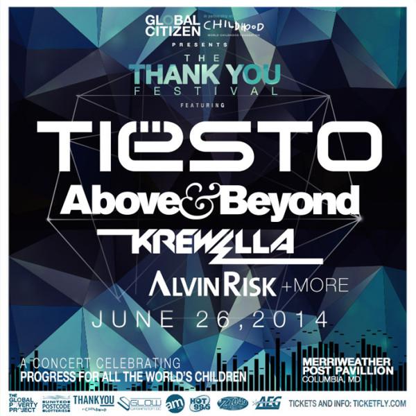 Tiesto 2014-06-26 Thank You Festival (Washington, US)