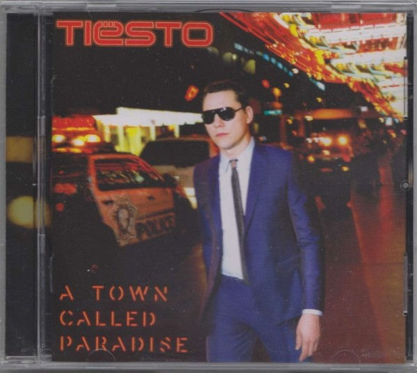 Tiesto - A Town Called Paradise (Get Music) (2014) Front
