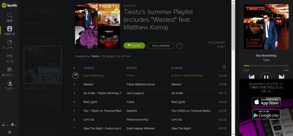 Tiesto - Spotify