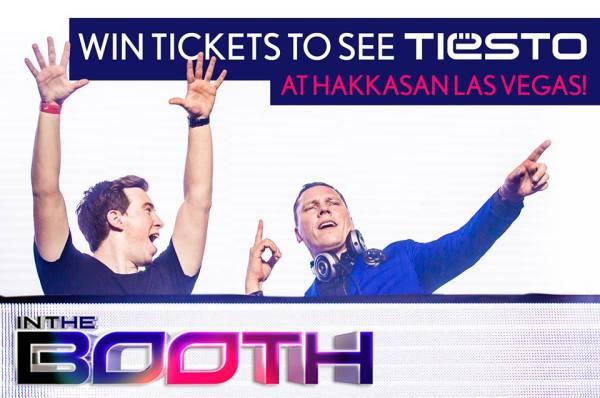 Win tickets to see Tiesto Hakkasan Las Vegas (2014) Banner